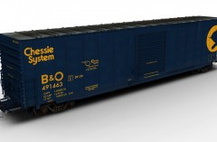 ACF 60ft Boxcar