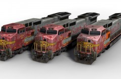 BNSF Weathered Collection